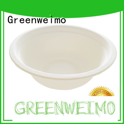 Greenweimo sugarcane biodegradable lunch trays manufacturers for cake
