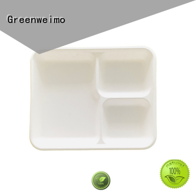 Greenweimo biodegradable tray meet different market for wet food
