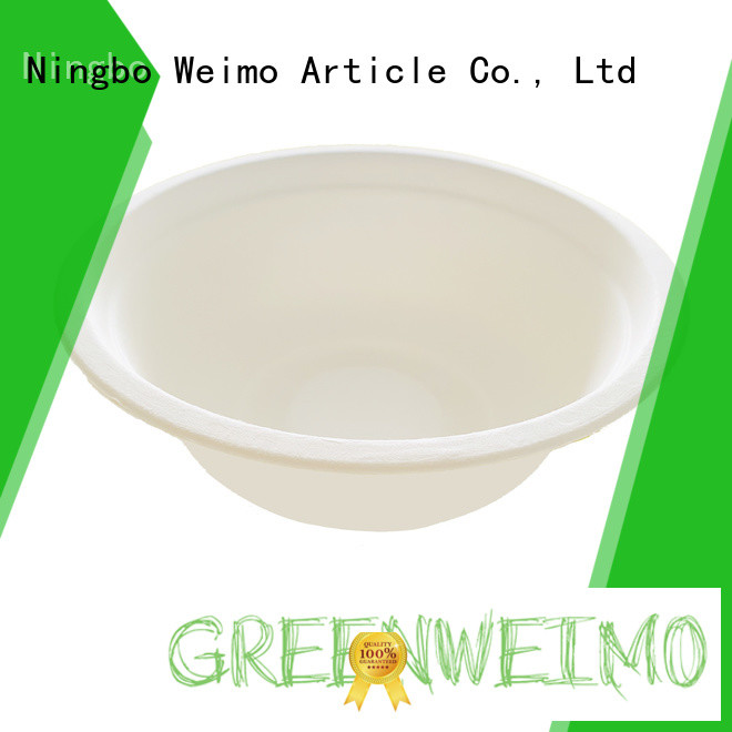 Greenweimo online biodegradable bowl meet different markets for cake