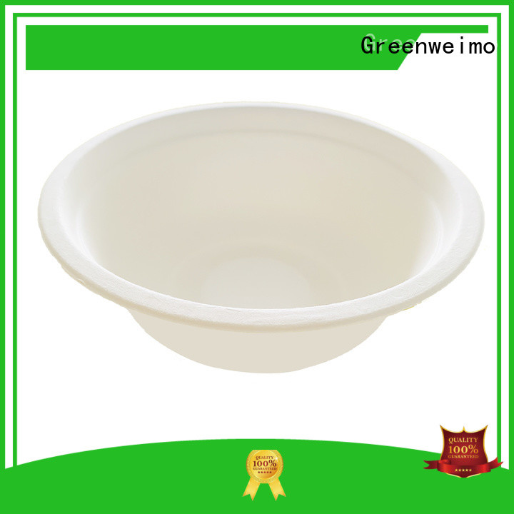 Greenweimo online biodegradable bowl meet different markets for food