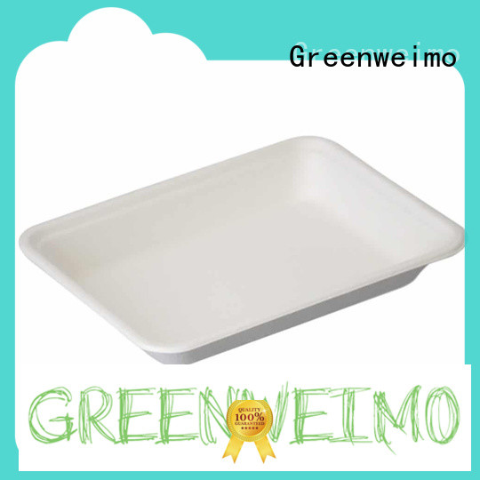 Greenweimo Custom biodegradable lunch trays Supply for hot food