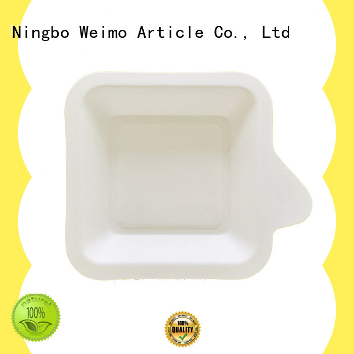 straw bagasse lunch trays available for oily food Greenweimo