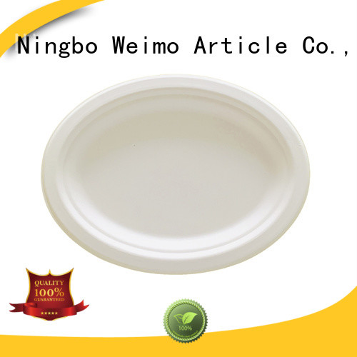 Wholesale bagasse plates three for business for party