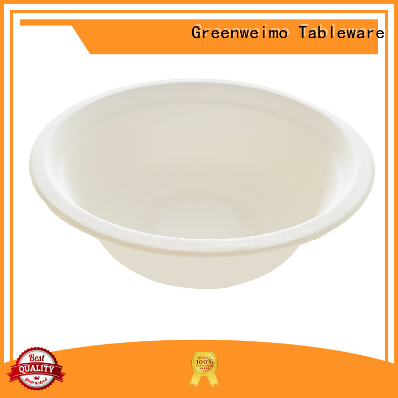 Greenweimo sugarcane eco friendly dinnerware set for business for cake
