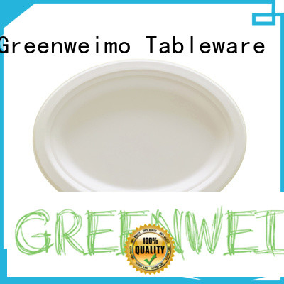 Greenweimo Latest eco friendly paper plates and cups manufacturers for party