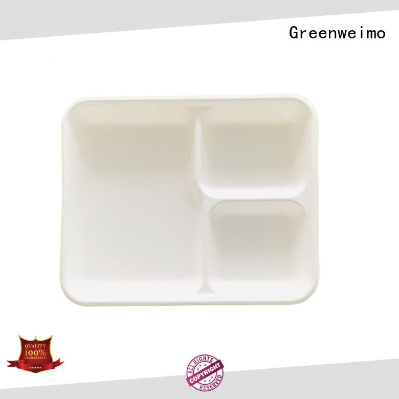 Wholesale biodegradable tableware suppliers sugarcane factory for hot food