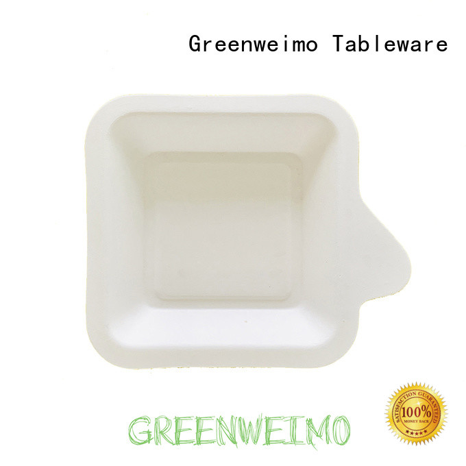 Greenweimo Latest biodegradable bowls factory for party