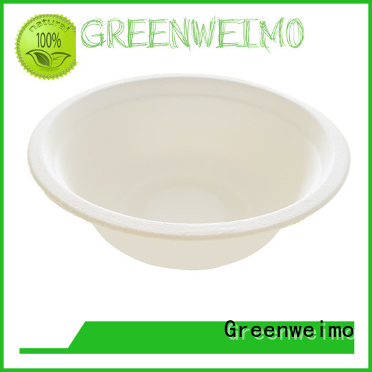 Greenweimo sugarcane eco friendly dishware company for meal