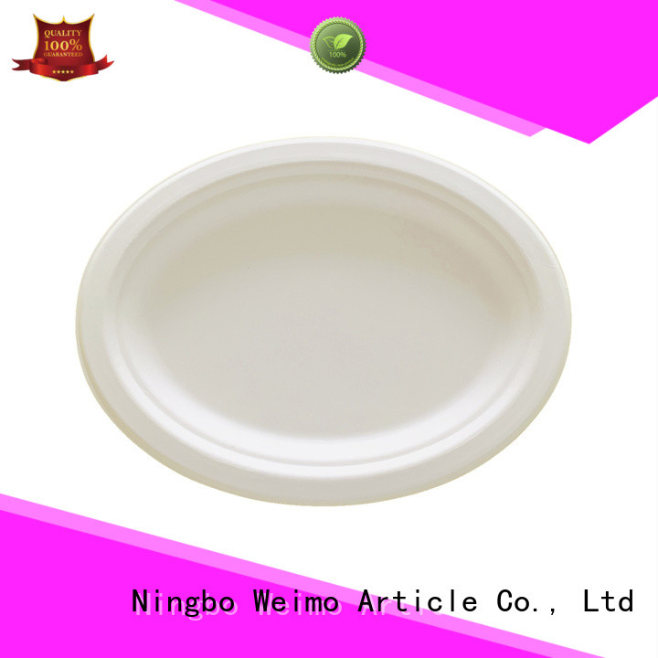 round bagasse plate meet different market for party