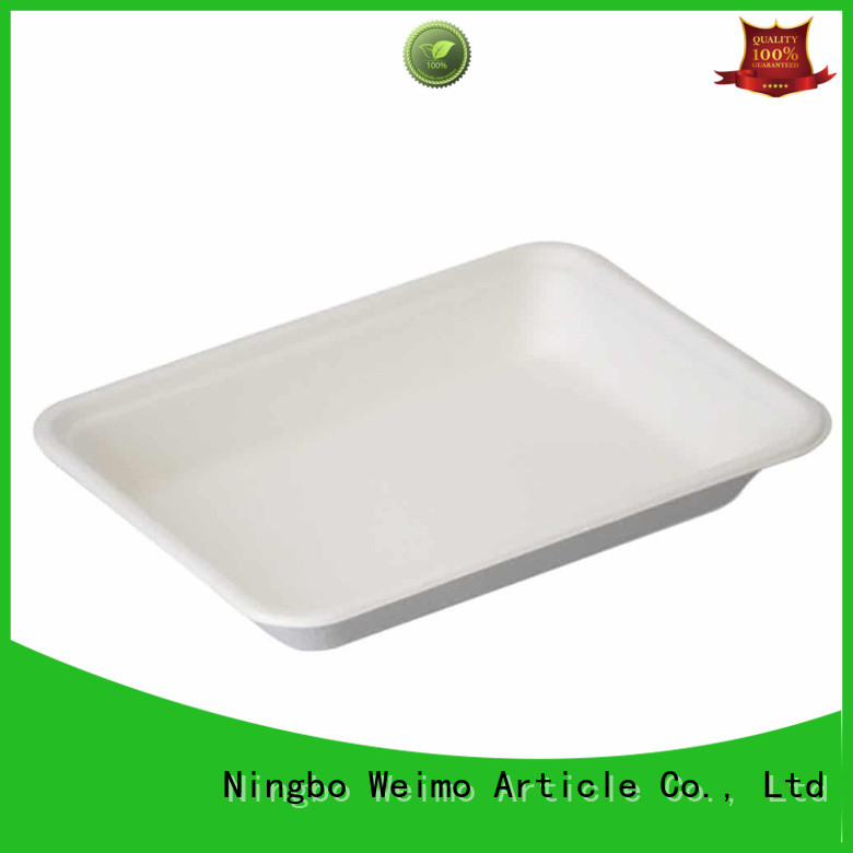 Wholesale biodegradable food trays tray company for oily food
