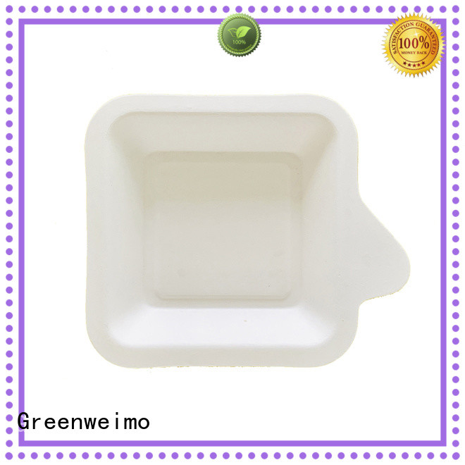 Greenweimo biodegradable tray on sale for wet food