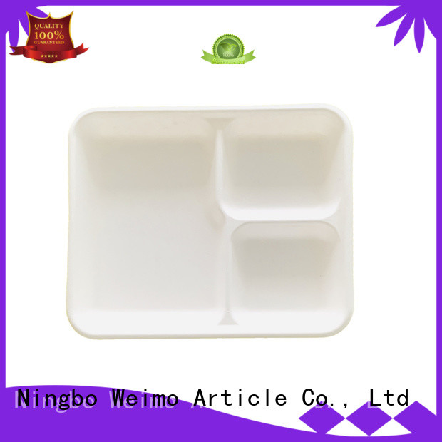 useful biodegradable tray wheat meet different marketfor oily food