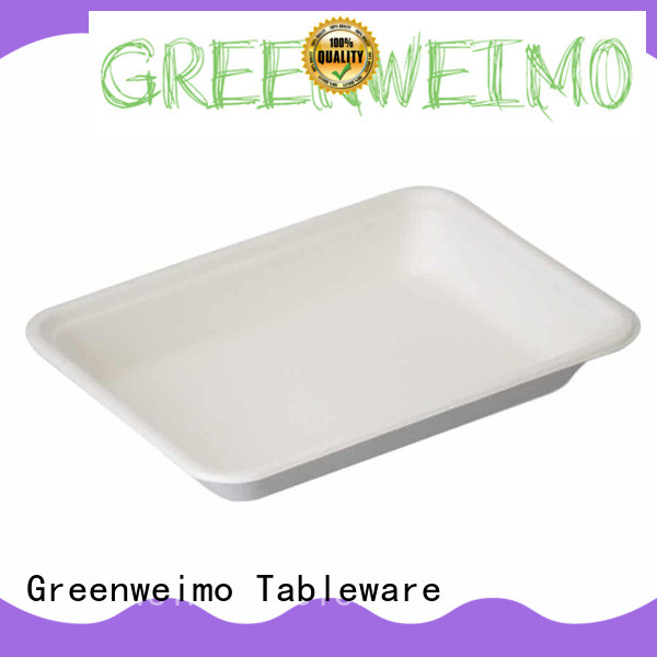 Greenweimo Top environmentally friendly lunch trays Suppliers for hot food