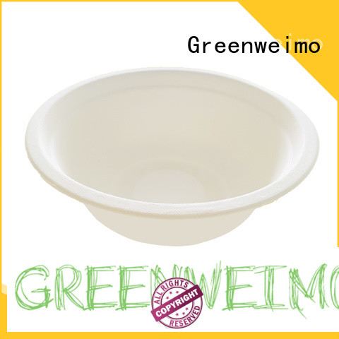 Greenweimo biodegradable bowl fiber for food