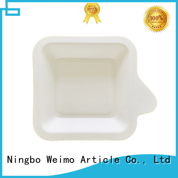 safe bagasse trays available for party