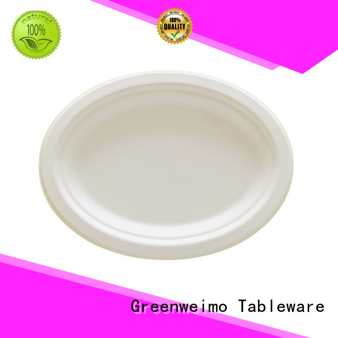 Greenweimo bio disposable trays Supply for wet food