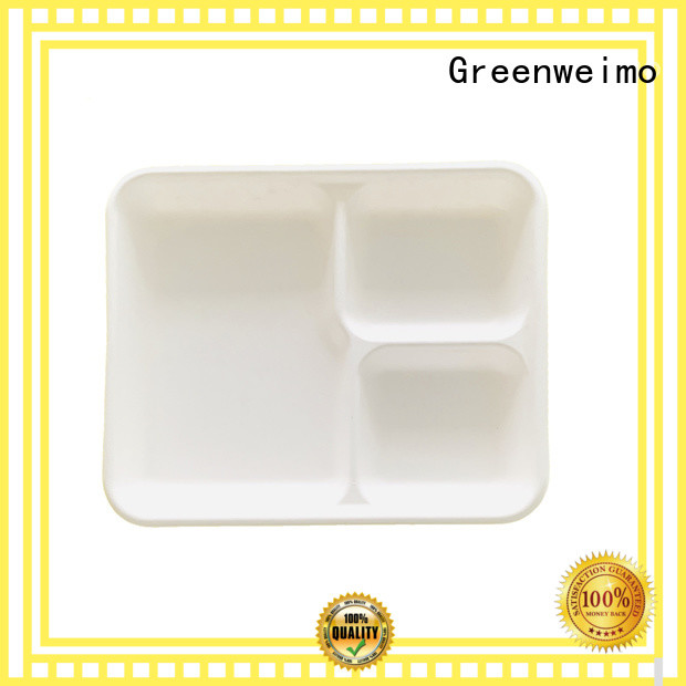 Greenweimo New biodegradable tray factory for hot food