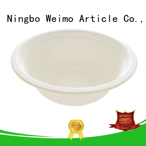 High-quality biodegradable paper products bowl Suppliers for cake