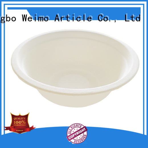 Wholesale eco friendly dishware natural factory for meal