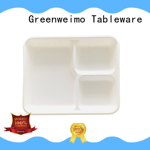 Greenweimo Best biodegradable tray Suppliers for wet food