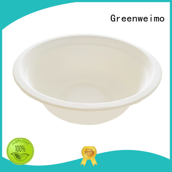 Greenweimo tableware compostable soup bowls factory for food
