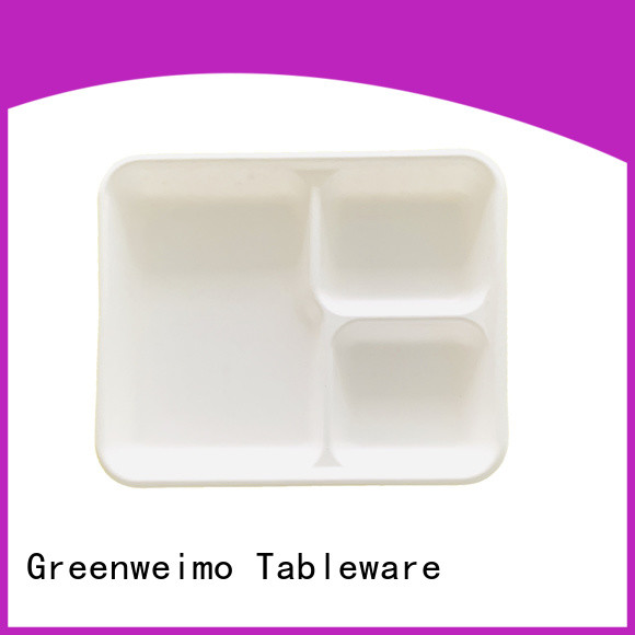Custom biodegradable meat trays straw company for wet food