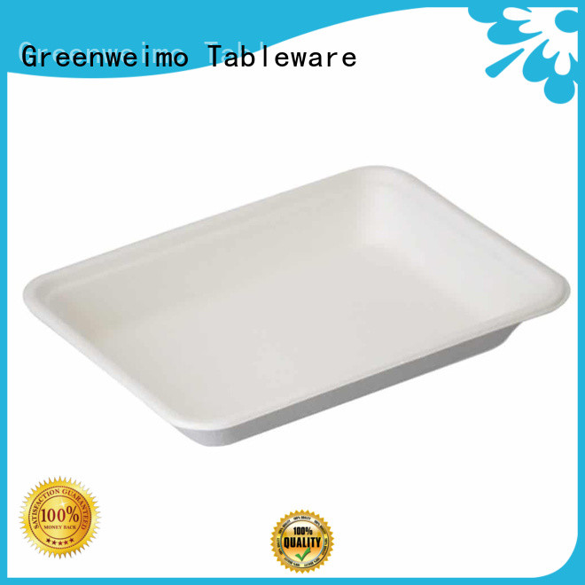Greenweimo inch paper lunch trays company for hot food